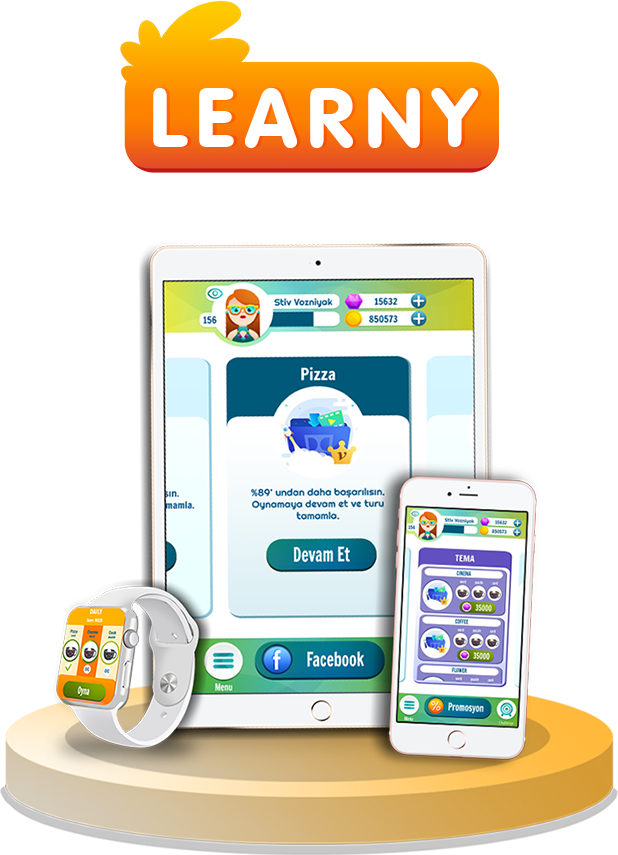 learny, game, mobile game